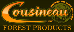 cousineau forest products logo