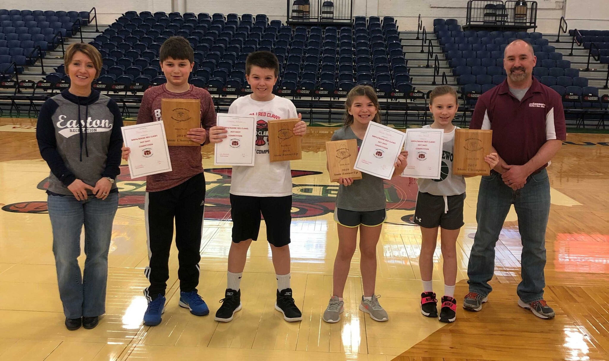 Maine Red Claws Hot Shot Competition - Maine Recreation and Parks